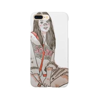 小原 泰彦のスマイル Smartphone cases