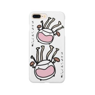 菌類サンバ Smartphone cases
