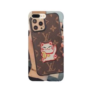 猫柄 ルイヴィトン iPhone 12/12Proケース オシャレ Smartphone cases