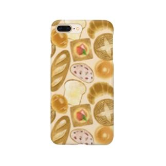 [ breads ] ベージュ Smartphone cases