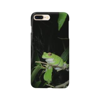 モリアオガエルさん Smartphone cases
