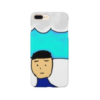 自画像コップ Smartphone Case