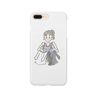 おしゃれと女の子 Smartphone cases