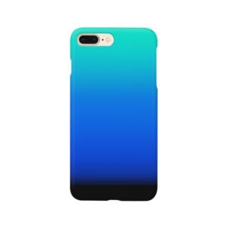 motchamのグラデーションスマホケース Smartphone cases