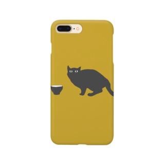 黒猫さん Smartphone cases