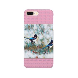 까치 ~カササギ~ Smartphone cases