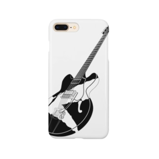 破られたギター Smartphone cases