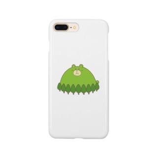 くまがおかさん Smartphone cases