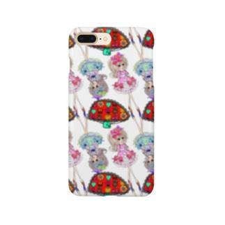 キノコ女子 Smartphone cases