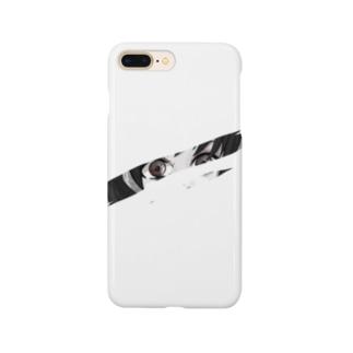 ナナセ シトの切れ目から覗く。 Smartphone cases