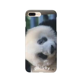 gackeyのひょっこりシャンシャン Smartphone cases