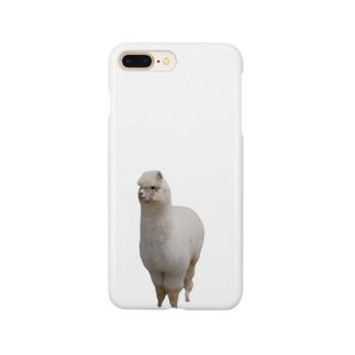 アルパカ実写ver. Smartphone cases