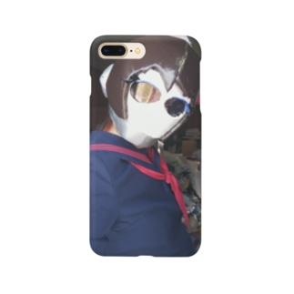 女子学生サイコロ Smartphone cases