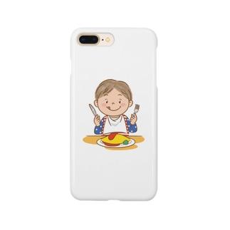 オムライスいただきます⭐︎シリーズ Smartphone Case