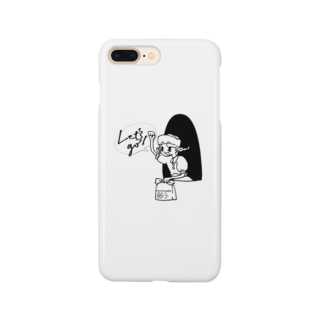 小林ゴリラのギョーザガール Smartphone cases