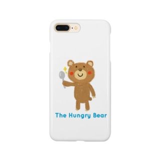 The Hungry Bear ロゴあり Smartphone cases