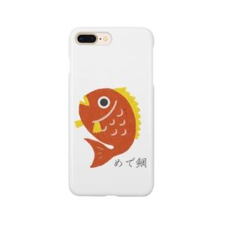 めで鯛 Smartphone cases