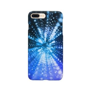 放射状の光のiphoneケース Smartphone cases