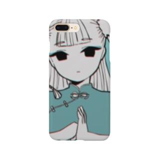 チャイナ(ブルー) Smartphone cases