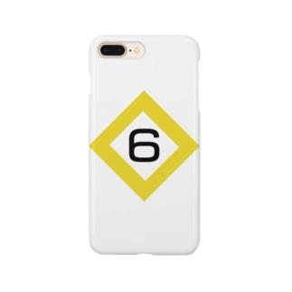 【鉄道グッズ】6両 停止位置目標 停目 Smartphone cases