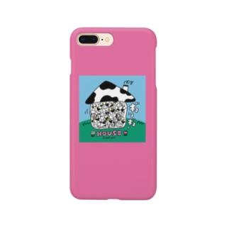 ギューギューHOUSE Smartphone cases