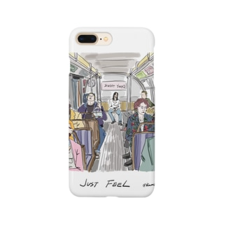 DONTTHINK JUST FEEL Smartphone cases