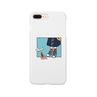 ハルイロのOops! Smartphone cases