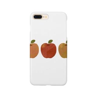 りんごのスマホケース Smartphone cases