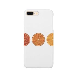 オレンジのスマホケース Smartphone cases