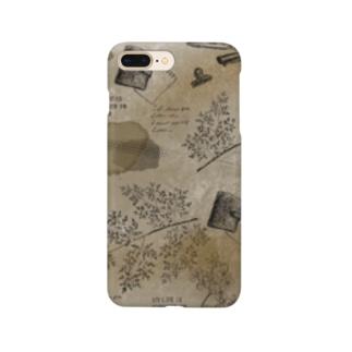 アンティークコラージュ Smartphone cases