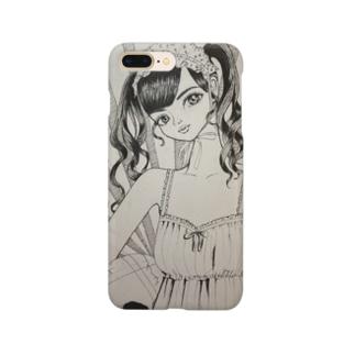 ヘッドドレスかわいいこチャンスマホケース Smartphone cases