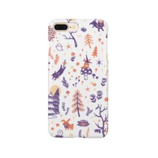 夜の森 Smartphone cases