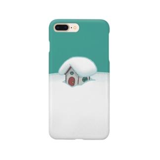 Artworksの雪ぴ Smartphone cases