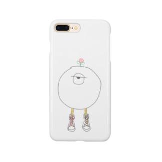 ヒトツメくんケース Smartphone cases
