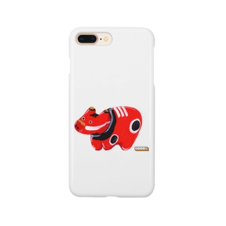 たいくつ堂【赤べこ】 Smartphone cases
