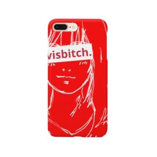 Evisbitch.  実際にビッチな人 Smartphone cases
