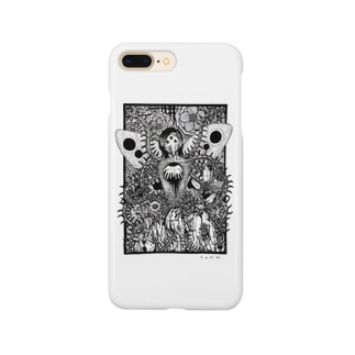 霊合星人の葛藤 Smartphone cases