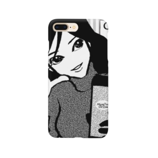 "Coffee&Girl""L"" Smartphone cases"