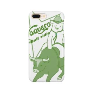 シロクマ商店のVaquero! Smartphone cases