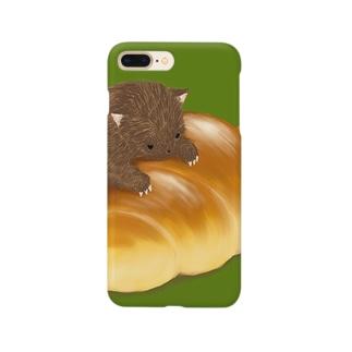 バターロールのすまほけーす Smartphone cases