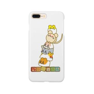 タワーだ!つみきハム!! Smartphone cases