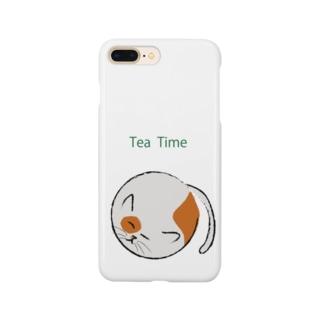 あるてみらの丸猫 Smartphone cases