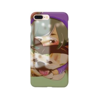ぎゅっとクッション小人さん Smartphone cases