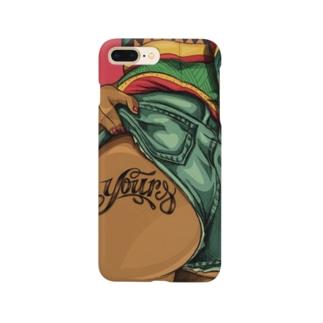 raggae お尻 Smartphone cases