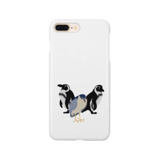ゴイサギ親衛隊 Smartphone cases