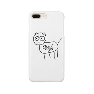 まとりょ動物 Smartphone cases