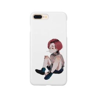 赤毛の男の子 Smartphone cases