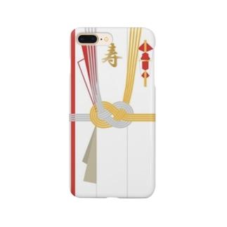 ご祝儀袋ケース Smartphone cases