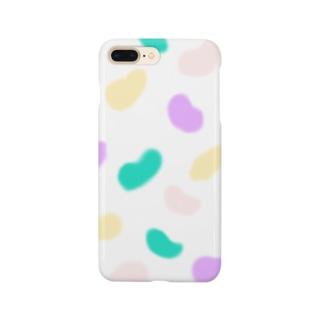 パステルビーンズ Smartphone cases