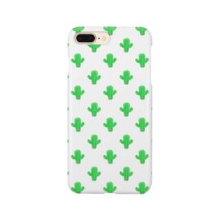 さわやかサボテン🌵💚 Smartphone cases